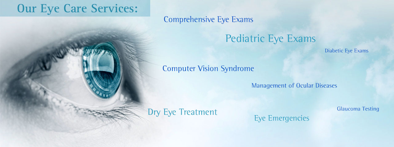 Ad for Eye Care Services in Denver, NC